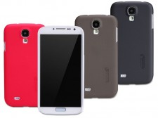 фото Матовый чехол Nillkin Super Frosted Shield для Samsung i9500 Galaxy S4 (+ пленка)
