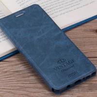 MOFI Vintage | Кожаный чехол-книжка с карманом для Meizu M5s