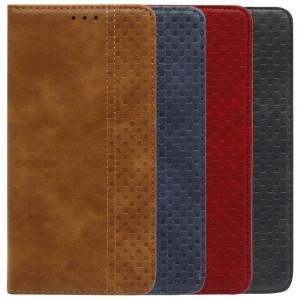 Business Wallet | Кожаный чехол книжка с визитницей для Xiaomi Redmi Note 10 Pro