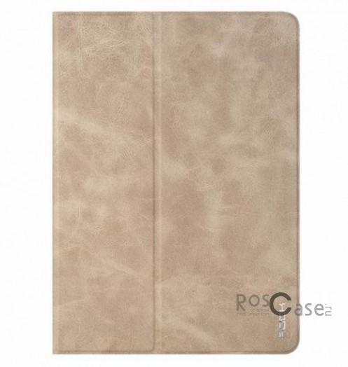 Кожаный чехол (книжка) ROCK Rotate Series Ver.2 для Apple iPad Air 2 (Хаки / Khaki)Описание:Чехол изготовлен компанией&amp;nbsp;Rock;Спроектирован для Apple iPad&amp;nbsp;Air 2;Материал  -  прочный поликарбонат и искусственная синтетическая кожа и полиуретан;Форма  -  чехол в виде книжки.Особенности:Исключается появление царапин и возникновение потертостей;Восхитительная амортизация при любом ударе;Обширная цветовая гаммаНе деформируется;Декоративная фактура;Функция Sleep mode;Возможен поворот вокруг своей оси.<br><br>Тип: Чехол<br>Бренд: ROCK<br>Материал: Искусственная кожа