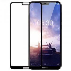Защитное стекло 5D Full Cover для Nokia 6.1 Plus (Nokia X6)