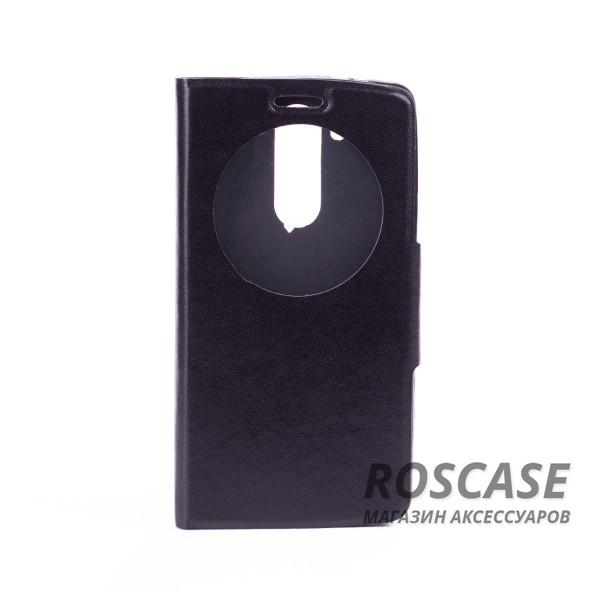 Чехол (книжка) с TPU креплением для LG D724/D722 G3S (Черный)<br><br>Тип: Чехол<br>Бренд: Epik<br>Материал: Искусственная кожа