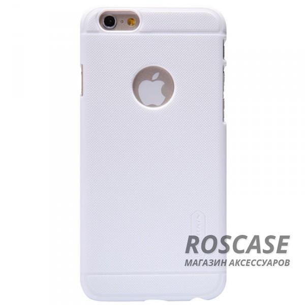 Чехол Nillkin Matte для Apple iPhone 6/6s (4.7) (+ пленка) (Белый)Описание:производитель  -  фирма Nillkin;разработан специально для Apple iPhone 6/6s (4.7);материал  -  пластик;форма  -  накладка.&amp;nbsp;Особенности:матовая ребристая поверхность;имеет все функциональные вырезы;легко чистится;тонкий дизайн не увеличивает габариты;защищает от механических воздействий;пленка в комплекте;не скользит в руках.<br><br>Тип: Чехол<br>Бренд: Nillkin<br>Материал: Поликарбонат