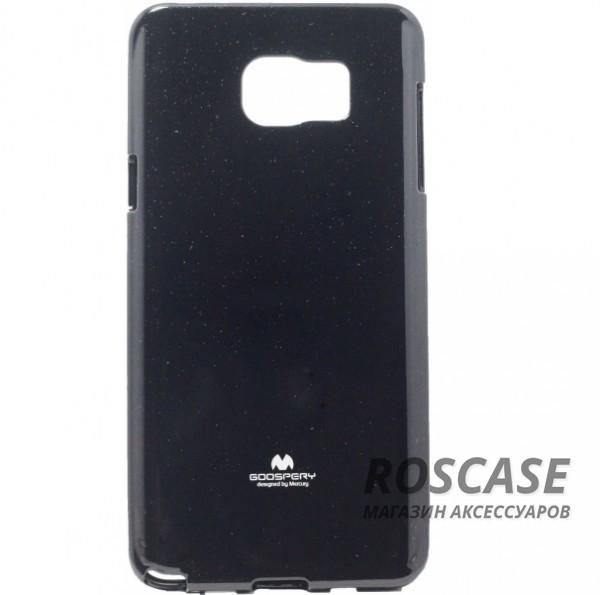 TPU чехол Mercury Jelly Color series для Samsung Galaxy Note 5 (Черный)Описание:изготовитель  -  Mercury;совместимость - Samsung Galaxy Note 5;материал чехла  -  термополиуретан (ТПУ);форма  -  накладка на заднюю панель;.Особенности:глянцевый;в наличии все вырезы;ультратонкий;износостойкий.<br><br>Тип: Чехол<br>Бренд: Mercury<br>Материал: TPU