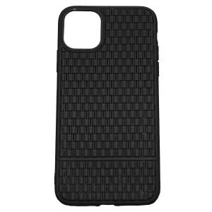 Рельефный силиконовый чехол Плетение  для iPhone 11 Pro Max