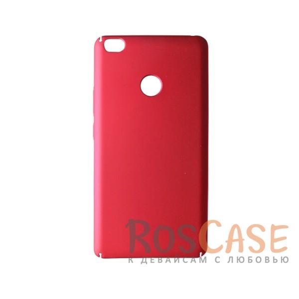Пластиковая накладка soft-touch с защитой торцов Joyroom для Xiaomi Mi Max (Красный)<br><br>Тип: Чехол<br>Бренд: Epik<br>Материал: Пластик