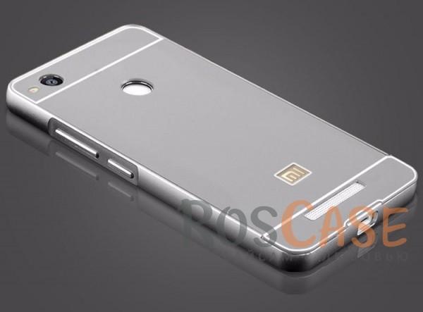 Металлический бампер с акриловой вставкой для Xiaomi Redmi 3 Pro / Redmi 3s /  Redmi 3х (Серебряный)Описание:совместимость  -  Xiaomi Redmi 3 Pro / Redmi 3s / Redmi 3x;материал  -  металл, акрил;форм-фактор  -  накладка.Особенности:надежная фиксация;сохраняет первоначальный вид;не подвергается деформации;имеет все функциональные вырезы;не скользит в руках.<br><br>Тип: Чехол<br>Бренд: Epik<br>Материал: Металл