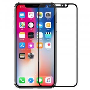 """Защитное 3D стекло с цветной рамкой на весь экран для Apple iPhone X (5.8"""")/XS (5.8"""")"""