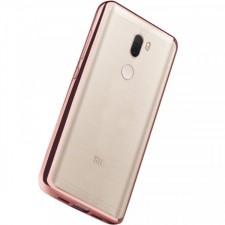 Силиконовый чехол для Xiaomi Mi 5s Plus с глянцевой окантовкой