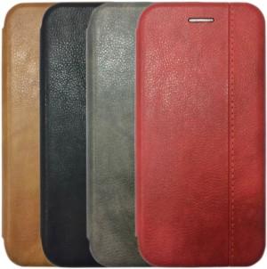 Open Color 2 | Чехол-книжка на магните для Huawei Honor 9 Lite с подставкой и внутренним карманом
