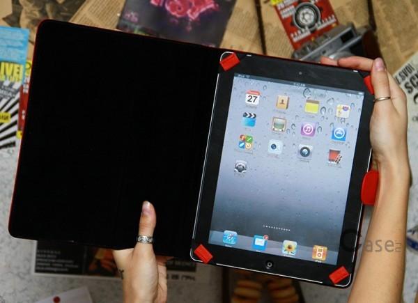 Фото кожаного чехла-книжки Mavis Classic с функцией подставки для Apple iPad 2 / 3 / 4