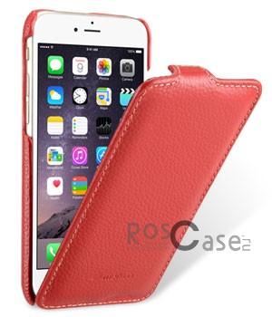 Кожаный чехол Melkco (JT) для Apple iPhone 6/6s (4.7) (Красный)Описание:компания-производитель: Melkco;совместим с Apple iPhone 6/6s (4.7);используемые материалы: микрофибра, натуральная кожа, поликарбонат;форма чехла: флип вниз.&amp;nbsp;Особенности:полный набор функциональных прорезей;строчный шов по периметру;элегантный дизайн;фактурная поверхность;уникальный механизм закрытия - Jacka Type.<br><br>Тип: Чехол<br>Бренд: Melkco<br>Материал: Натуральная кожа