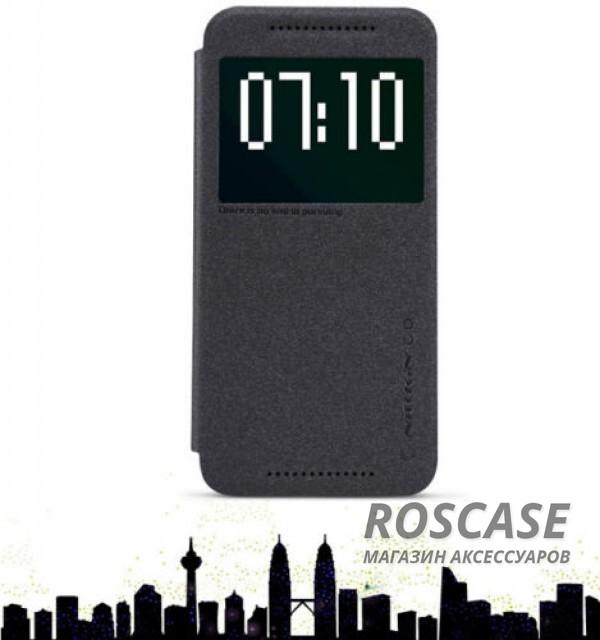 Кожаный чехол (книжка) Nillkin Sparkle Series для HTC One / M9  (Черный)Описание:бренд&amp;nbsp;Nillkin;изготовлен специально для HTC One / M9;материал: искусственная кожа, поликарбонат;тип: чехол-книжка.Особенности:не скользит в руках;защита от механических повреждений;интерактивное окошко;функция Sleep mode;не выгорает;блестящая поверхность;надежная фиксация.<br><br>Тип: Чехол<br>Бренд: Nillkin<br>Материал: Искусственная кожа