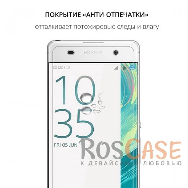 Фото Прозрачное защитное стекло с закругленными краями и олеофобным покрытием для Sony Xperia XA / XA Dual