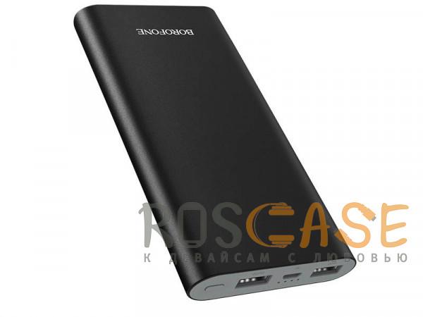 Фотография Черный Портативное зарядное устройство Power Bank Borofone BT19B (метал) 20000mAh