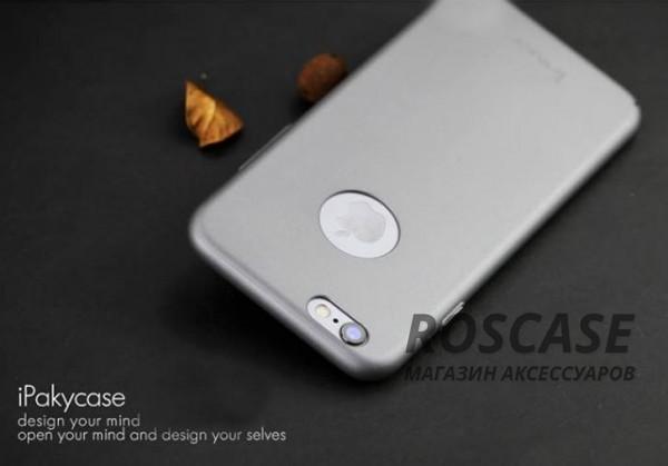 "Фото Серый iPaky Metal Plating  | Пластиковый чехол для Apple iPhone 6/6s (4.7"")"