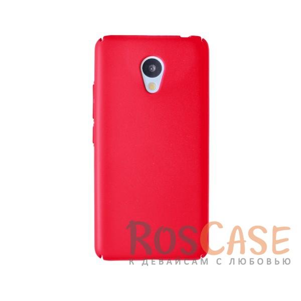 Пластиковая накладка soft-touch с защитой торцов Joyroom для Meizu M3 / M3 mini / M3s (Красный)<br><br>Тип: Чехол<br>Бренд: Epik<br>Материал: Пластик