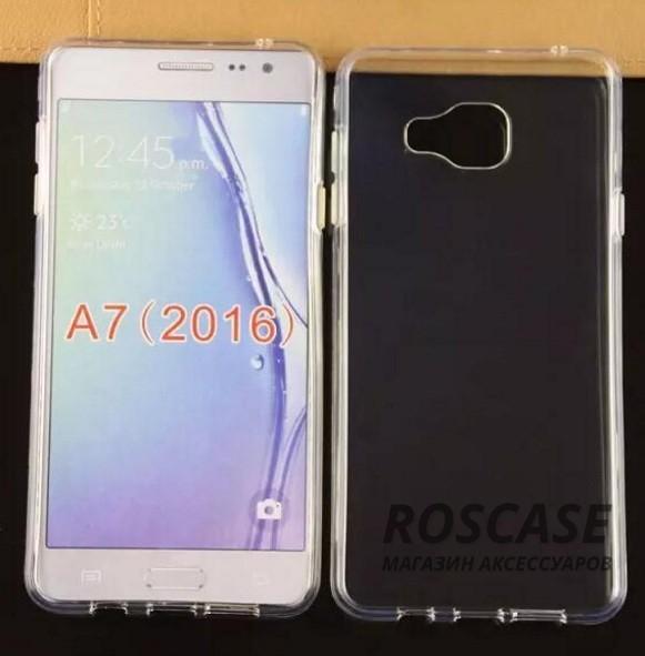 TPU чехол Ultrathin Series 0,33mm для Samsung A710F Galaxy A7 (2016)Описание:изготовлен компанией&amp;nbsp;Epik;совместим с&amp;nbsp;Samsung A710F Galaxy A7 (2016);материал: термополиуретан;тип: накладка.&amp;nbsp;Особенности:толщина накладки - 0,33 мм;прозрачный;эластичный;надежно фиксируется;есть все функциональные вырезы.<br><br>Тип: Чехол<br>Бренд: Epik<br>Материал: TPU