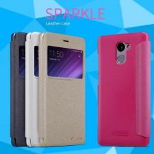Nillkin Sparkle | Чехол-книжка с окошком для Xiaomi Redmi 4