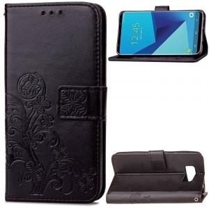 Чехол-книжка с узорами на магнитной застёжке для Samsung G950 Galaxy S8
