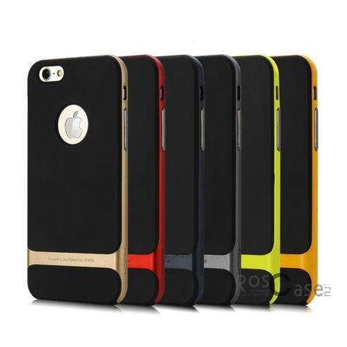TPU+PC чехол Rock Royce Series для Apple iPhone 6/6s (4.7)Описание:фирма-производитель  -  Rock;совместимость - Apple iPhone 6/6s (4.7);материалы  -  полиуретан, поликарбонат;тип  -  накладка.&amp;nbsp;Особенности:пластичный;имеет все необходимые вырезы;легко чистится;не увеличивает габариты;защищает от ударов и падений;износостойкий.<br><br>Тип: Чехол<br>Бренд: ROCK<br>Материал: TPU