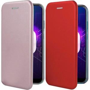 Open Color | Чехол-книжка для Samsung Galaxy J3 (2018) с функцией подставки и магнитом