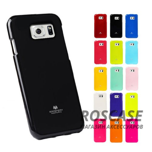 фото TPU чехол Mercury Jelly Color series для Samsung G925F Galaxy S6 Edge