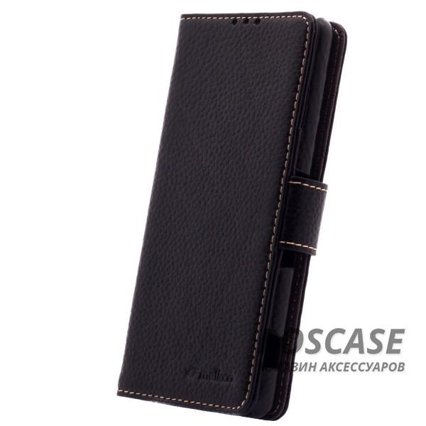 Кожаный чехол (книжка) Melkco для Sony Xperia XA / XA Dual (Черный)Описание:производитель  - &amp;nbsp;Melkco;совместим с Sony Xperia XA / XA Dual;материал  -  натуральная кожа;форма  -  чехол-книжка.&amp;nbsp;Особенности:защита со всех сторон;имеет все функциональные вырезы;легко очищается;магнитная застежка;кармашки для карточек;защищает от механических повреждений;не скользит в руках.<br><br>Тип: Чехол<br>Бренд: Melkco<br>Материал: Натуральная кожа