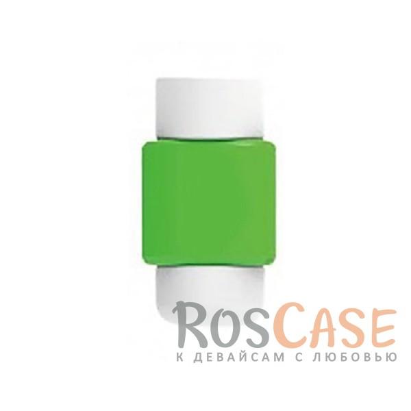 Цветной протектор с защитой от перелома для кабеля (Зеленый)Описание:тип - протектор для кабеля;материал - пластик;защита от переломов;компактные размеры;состоит из двух частей.<br><br>Тип: Общие аксессуары<br>Бренд: Epik