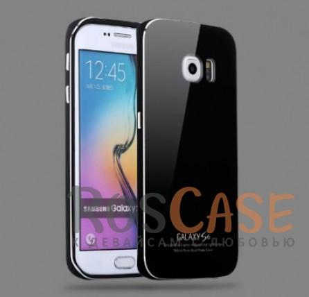 Металлический бампер Luphie с акриловой вставкой для Samsung Galaxy S6 G920F/G920D (Черный / Черный)Описание:бренд -&amp;nbsp;Luphie;материал - алюминий, акриловое стекло;совместим с Samsung Galaxy S6 G920F/G920D;тип - бампер со вставкой.Особенности:акриловая вставка;прочный алюминиевый бампер;в наличии все вырезы;ультратонкий дизайн;защита устройства от ударов и царапин.<br><br>Тип: Чехол<br>Бренд: Luphie<br>Материал: Металл