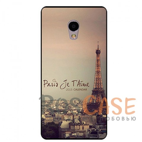 TPU чехол Sweet Art для Meizu M3 / M3 mini / M3s (Paris)<br><br>Тип: Чехол<br>Бренд: Epik<br>Материал: TPU