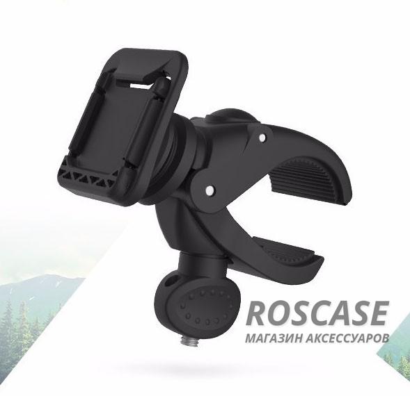 Велодержатель Rock MOC Kits SeriesОписание:бренд&amp;nbsp;Rock;совместимость: универсальная;материал  -  пластик;тип  -  велодержатель.&amp;nbsp;Особенности:крепится на руль велосипеда;прочный;для комфортного пользования при езде на велосипеде;компактный.<br><br>Тип: Клипса<br>Бренд: ROCK