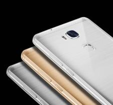 Msvii | Прозрачный силиконовый чехол для Huawei Honor 5X с заглушкой