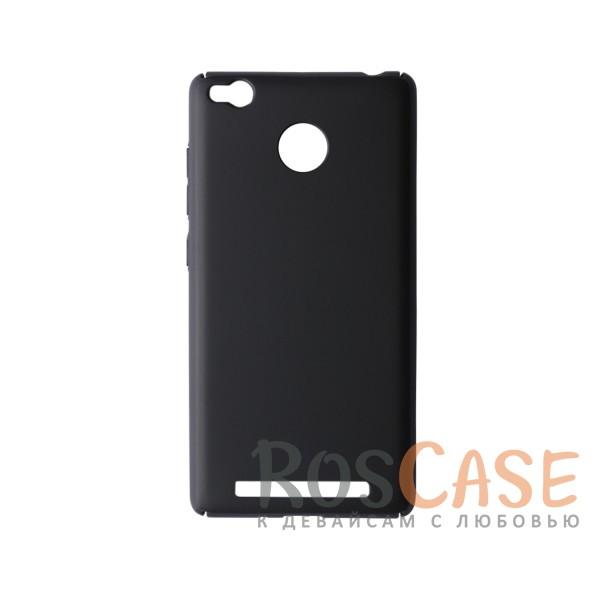 Пластиковая накладка soft-touch с защитой торцов Joyroom для Xiaomi Redmi 3 Pro / Redmi 3s (Черный)<br><br>Тип: Чехол<br>Бренд: Epik<br>Материал: Пластик