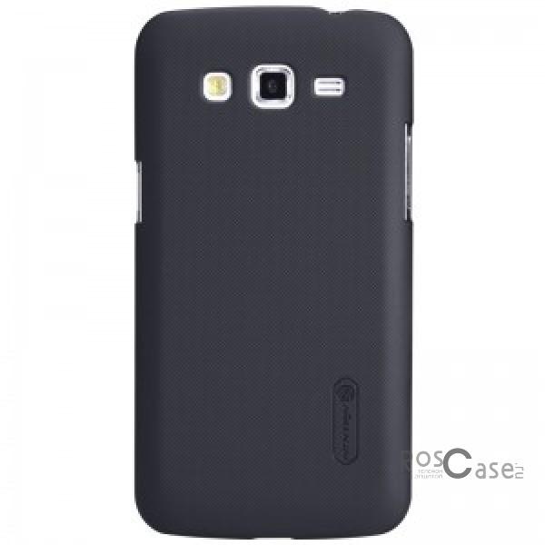 Чехол Nillkin Matte для Samsung G7102 Galaxy Grand 2 (+ пленка) (Черный)Описание:компания-производитель  -  Nillkin;изготовлен из качественного пластика для Samsung G7102 Galaxy Grand 2;форм-фактор  -  накладка;широкий выбор цветов;высокий уровень прочности.Особенности:имеет антикислотное напыление;присутствуют все необходимые отверстия для базового функционирования телефона;легко фиксируется;не скользит в руках.<br><br>Тип: Чехол<br>Бренд: Nillkin<br>Материал: Поликарбонат