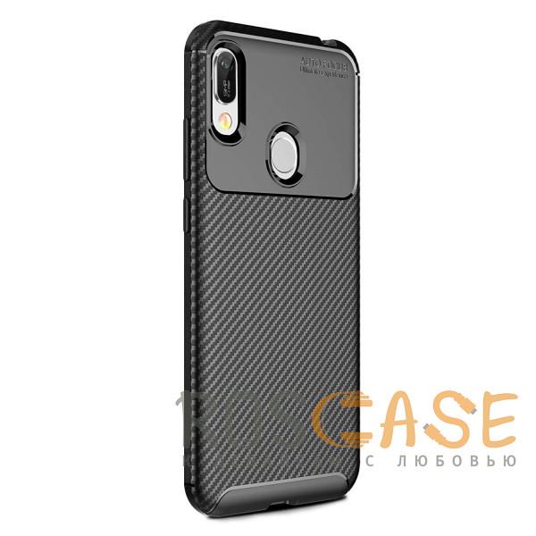 Фотография Черный TPU чехол iPaky Kaisy Series для Huawei Y6 (Pro) 2019/Honor 8A (Pro)