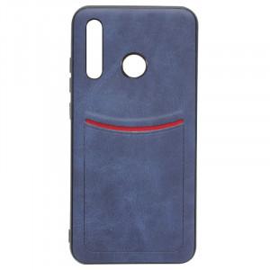 ILEVEL | Чехол с кожаным покрытием и карманом  для Huawei P30 Lite