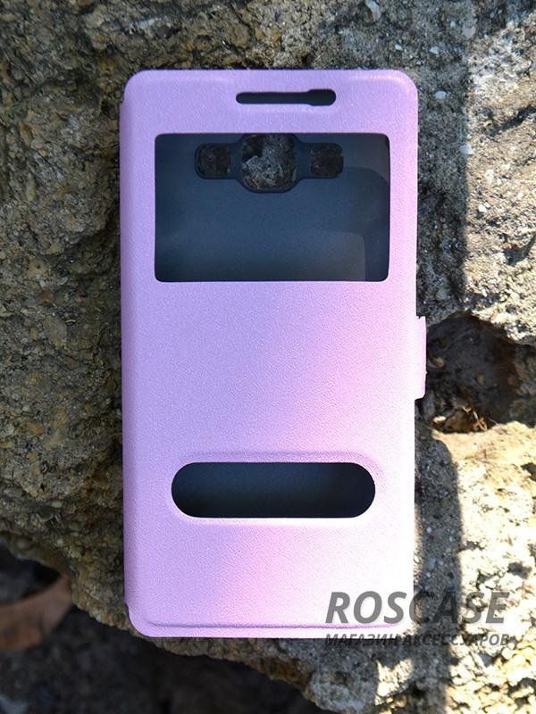 Чехол (книжка) Smart Case Series для Samsung A500H / A500F Galaxy A5 (Розовый)Описание:производитель -&amp;nbsp;Epik;совместим с Samsung A500H / A500F Galaxy A5;материал - поликарбонат + кожзам;форма - книжка.Особенности:ультратонкий дизайн;устойчивость к деформации;гладкая поверхность;окошко в обложке;магнитная застежка;наличие необходимых вырезов.<br><br>Тип: Чехол<br>Бренд: Epik<br>Материал: Искусственная кожа