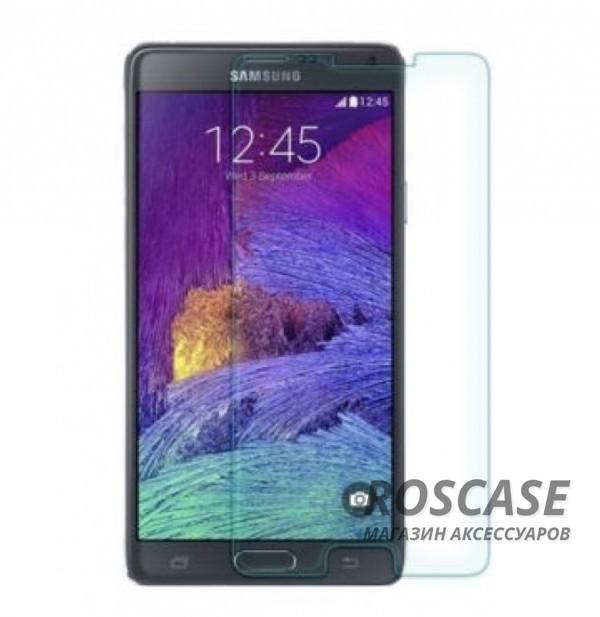 Ультратонкое стекло с закругленными краями для Samsung N910H Galaxy Note 4 (карт. уп-вка)Описание:совместимо с устройством Samsung N910H Galaxy Note 4;материал: закаленное стекло;тип: защитное стекло на экран.&amp;nbsp;Особенности:закругленные&amp;nbsp;грани стекла обеспечивают лучшую фиксацию на экране;стекло очень тонкое - 0,33 мм;отзыв сенсорных кнопок сохраняется;стекло не искажает картинку, так как абсолютно прозрачное;выдерживает удары и защищает от царапин;размеры и вырезы стекла соответствуют особенностям дисплея.<br><br>Тип: Защитное стекло<br>Бренд: Epik