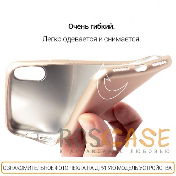 Фото Золотой J-Case THIN | Гибкий силиконовый чехол для Samsung G950 Galaxy S8