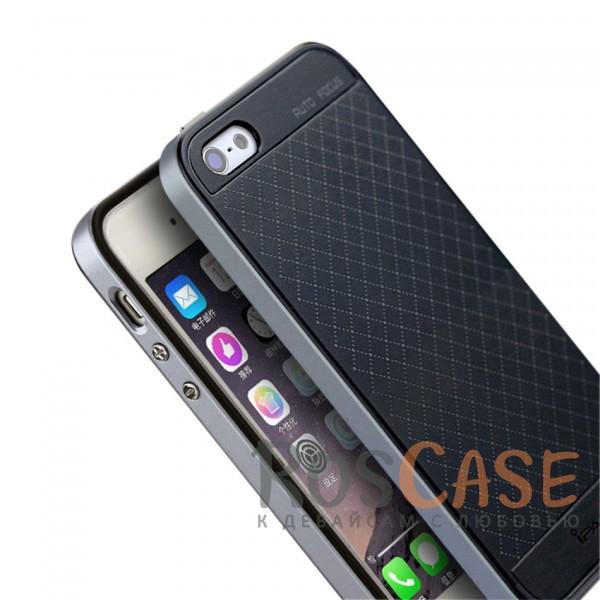 Фотография Черный / Серый iPaky Hybrid   Противоударный чехол для Apple iPhone 5/5S/SE