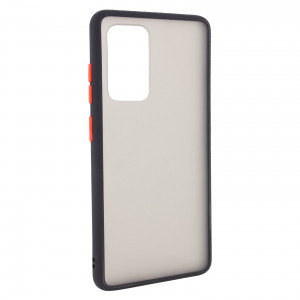 Противоударный матовый полупрозрачный чехол  для Samsung Galaxy S20 Ultra