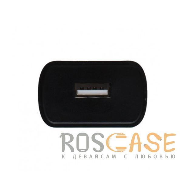 Фотография Черный Borofone BA20A | Блок зарядки для телефона 1USB / 2.1A