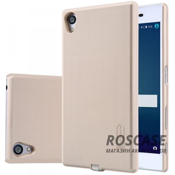 Пластиковая накладка Nillkin Magic с модулем приема от беспроводного ЗУ для Sony Xperia Z5 (Золотой)Описание:компания&amp;nbsp;Nillkin;разработана для Sony Xperia Z5;материал: поликарбонат;тип: накладка.&amp;nbsp;Особенности:модуль приема заряда от беспроводного ЗУ;выходное напряжение - 5V-1A (max);на накладке не заметны отпечатки пальцев;ультратонкая;защита от царапин и потертостей.<br><br>Тип: Чехол<br>Бренд: Nillkin<br>Материал: Поликарбонат