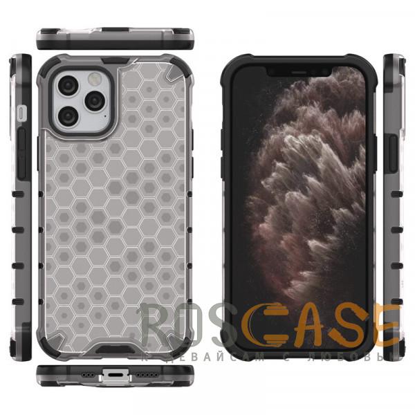 Изображение Черный Transformer Honeycomb   Противоударный чехол для iPhone 12 / 12 Pro