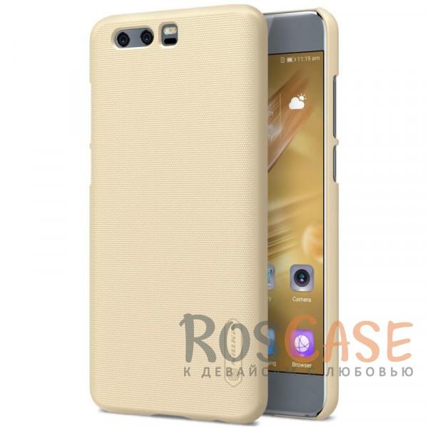 Матовый чехол для Huawei Honor 9 (+ пленка)  (Золотой)Описание:бренд&amp;nbsp;Nillkin;совместим с Huawei Honor 9;материал: поликарбонат;рельефная фактура;тип: накладка;в наличии все функциональные вырезы;закрывает заднюю панель и боковые грани;не скользит в руках;защищает от ударов и царапин.<br><br>Тип: Чехол<br>Бренд: Nillkin<br>Материал: Поликарбонат