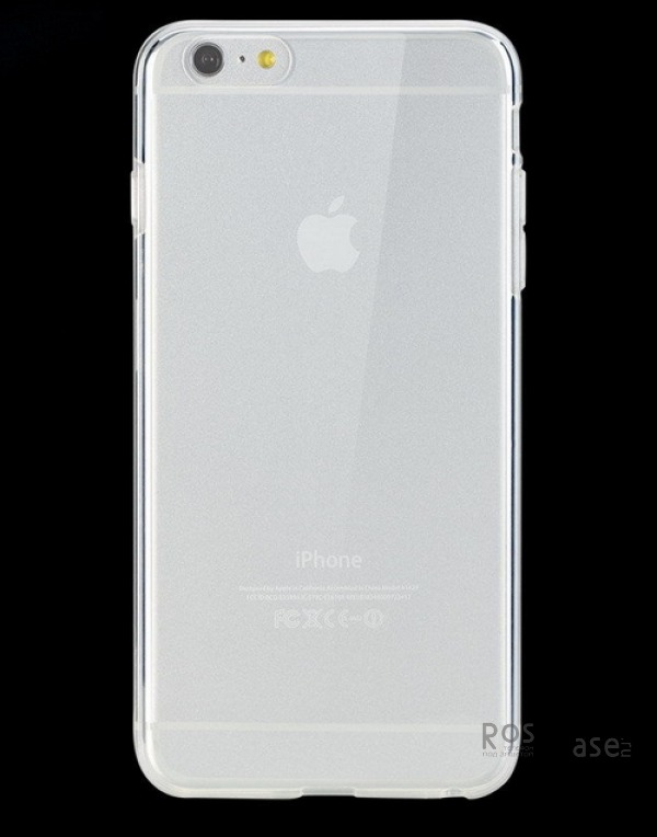 фотография Прозрачный / Transparent TPU чехол ROCK Slim Jacket для Apple iPhone 6/6s plus (5.5