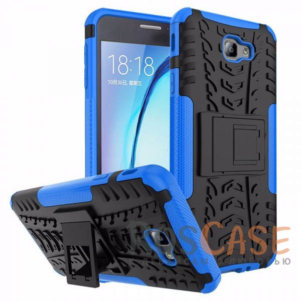 Противоударный двухслойный чехол Shield Samsung G570F Galaxy J5 Prime (2016) с подставкой (Синий)Описание:совместим с Samsung G570F Galaxy J5 Prime (2016);удобная функция подставки;материал - поликарбонат, термополиуретан;тип - накладка.<br><br>Тип: Чехол<br>Бренд: Epik<br>Материал: TPU