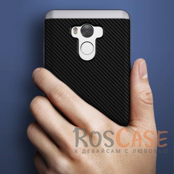 Изображение Черный / Серебряный iPaky Hybrid | Противоударный чехол для Xiaomi Redmi 4 Pro / Redmi 4 Prime