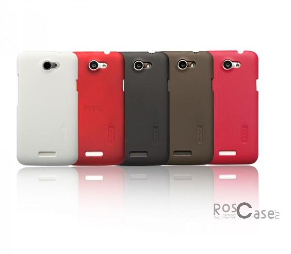 фото чехол Nillkin Matte (4 цвета) для HTC One X / One XL